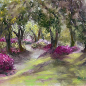 Azaleas and Live Oaks